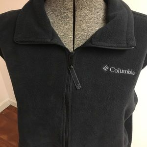 Columbia Navy Blue Fleece Vest